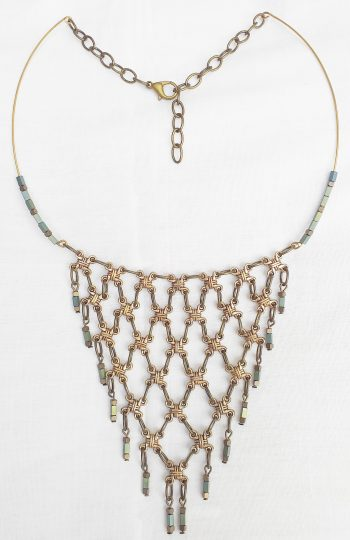 Product pic chainmail necklace
