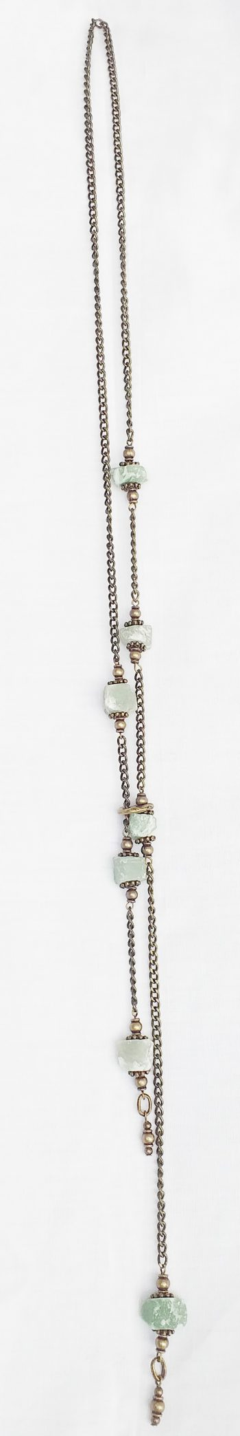 Product pic raw aventurine necklace