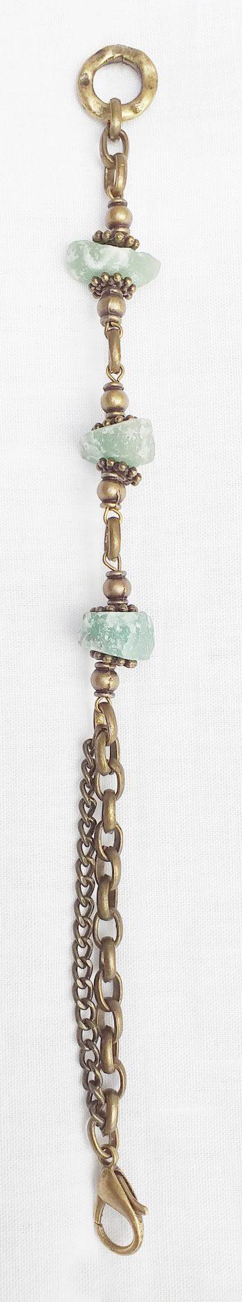 Product pic raw aventurine necklace bracelet