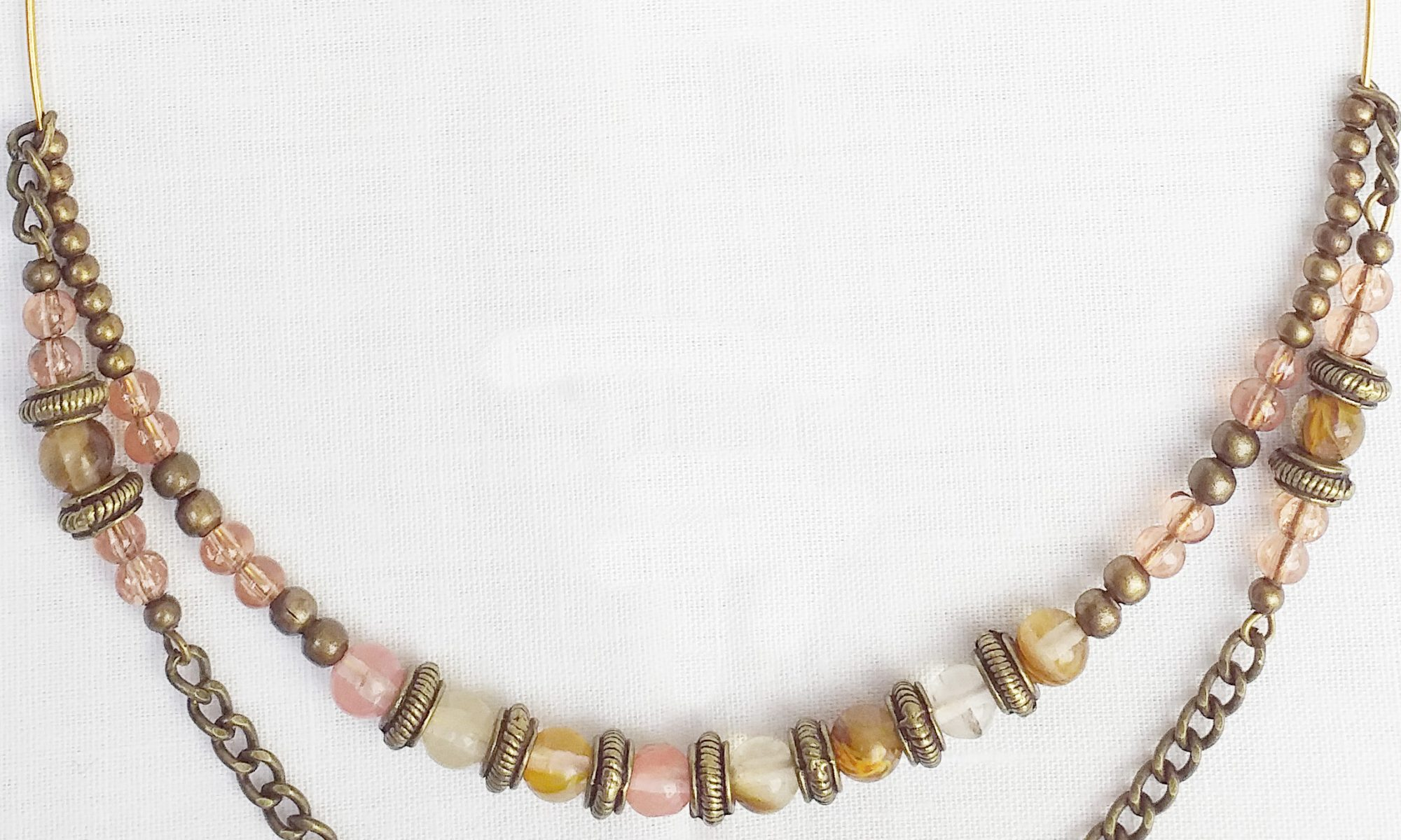 Product pic glass bead chocker necklace thumbnail