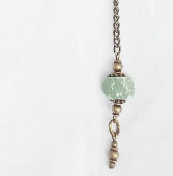 Product pic raw aventurine necklace thumbnail